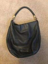 MARC JACOBS Black Leather Too Hot To Handle Hobo Bag - PRE OWNED