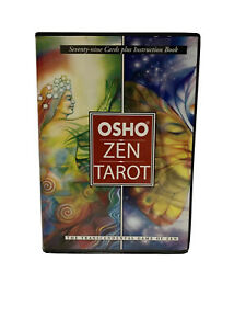 Original Osho Zen Tarot The Transcendental Game Of Zen 79 Cards + Book Set 1994