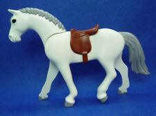 Playmobil J-79 Horse Figure & Saddle Stable Farm [New open Packaging]