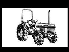 KUBOTA L2650 L2950 L3450 L3650 L-2650 MANUAL for Tractor Operation & Service