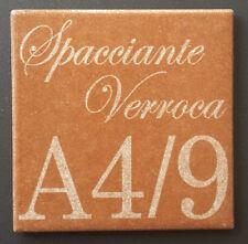 Numero civico + via inciso su piastrella di ceramica 10x10 cm