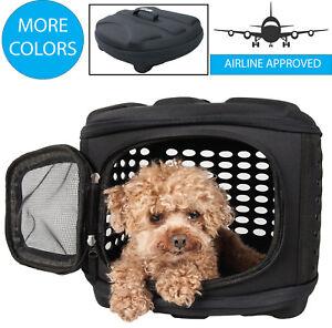 Circular Shelled Lightweight Collapsible Transporter Travel Pet Dog Carrier