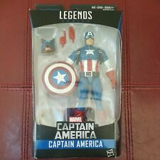 """Marvel Legends Captain America """"Wolf Cap"""" Onslaught Red Skull BAF Wave COMPLETE"""