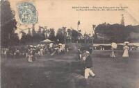 CPA 87 SAINT JUNIEN FETE DES PREVOYANTS DE L'AVENIR AU PUY DE VALETTE 1906
