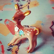 Unique VINTAGE STYLE DEER RING retro 50s 60s FAWN animal BAMBI sweet ADJUSTABLE