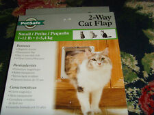 New listing PetSafe 2-Way cat flag small size 1-12 lb cat door magnet closure easy lock