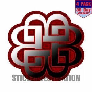 Breaking Benjamin 4 pack 4x4 Inch Sticker Decal