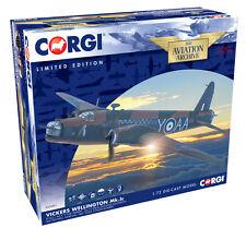 """Corgi 1:72nd escala Vickers Wellington 1C """"y para Yorker Modelo Diecast""""."""