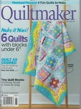 Quiltmaker May/June 2019 Pinwheel Pizzazz/Tips for Quilting with Rulers