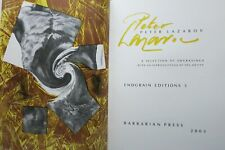 PETER LAZAROV A SELECTION OF ENGRAVINGS WITH AN INTRODUCTION Limited Signed 2003