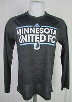 Minnesota United FC Adidas Men's Climalite  Long Sleeve T-Shirt