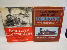 American Rail Road Books Lot of 2  by E.P.Alexander 1950's VGC Free Ship