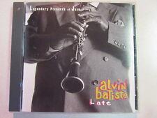 ALVIN BATISTE LATE 1993 8 TRK CD HAND AUTOGRAPHED AVANT-GARD FREE JAZZ CLARINET
