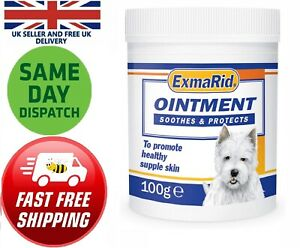 Exmarid Ointment 100g Animals Antibacterial Dry Itchy Flaky Damaged Skin Scratch
