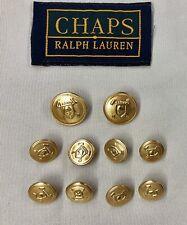 Jacket  Blazer Coat  #G12 New lots Gold Metal Buttons 9//16 11//16 13//16