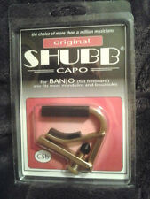 New Shubb C5B Original Brass Banjo Capo + Free Shipping