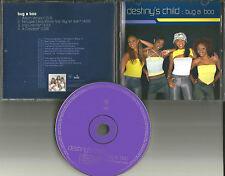 Beyonce  DESTINY'S CHILD Bug a Boo INSTRUMENTAL & REMIX &ACAPELA PROMO CD Single