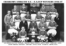CHARLTON ATHLETIC F.C.TEAM PRINT 1947 - F.A.CUP WINNERS