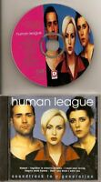 HUMAN LEAGUE Soundtrack To A Generation CD ALB DUTCH PICT DISC free ww shipping