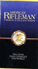 American Rifleman 10 Ten Guns That Changed The World New Sealed VHS Video Tape