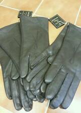 Ladies Leather Gloves Brown Small Only 6.5