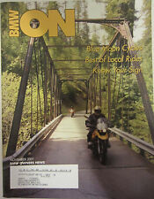 BMW Owners News Magazine November 2001 Blue Moon Cycles Best of Local Rides
