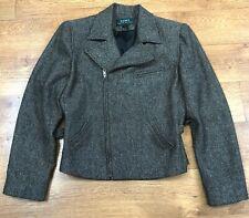 Lauren Ralph Lauren Tweed Jacket Blazer Wool UK 8