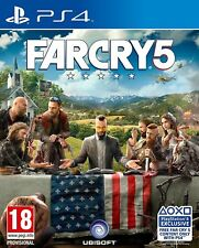 Far Cry 5 (PS4) NEW & SEALED Fast Dispatch Free UK P&P