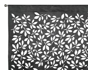 FREE POSTAGE - Classic French Design - Laser Cut Suede Curtains - Ready to Hang