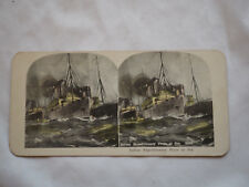 WWI INDIAN EXPEDITIONARY FORCE AT SEA #9368 Antique Stereoview Card