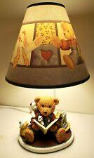 Blue Jean Teddy Bear Lamp W/Shade Duck Dog Rabbit Panda Kids Childs Nursury Room