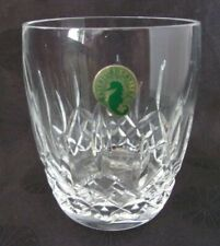"Waterford Crystal ""LISMORE TRADITIONS"" Double Old Fashioned Glass,  MINT"
