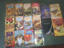 Bulk Terry Pratchett  x16  Wee Free Men, Witches, Soul Music, Feet Of Clay, Mort
