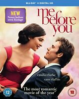 Me Before You [Includes Digital Download] [Blu-ray] [2016] [Region Free] [DVD]