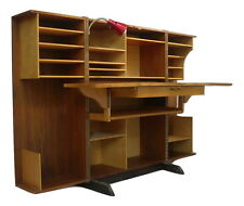 Danish Modern Teak Folding Magic Box Desk Mummenthaler Meier Secretary Rosewood