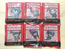RARE Rurouni Kenshin Earphone Jack Accessory 6 pieces Complete set Japan Anime