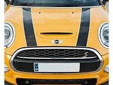 Bonnet Stripe Set Black Genuine Mini F55 F56 Cooper S 51147365187 51147365188