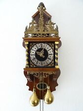 Zaanse Dutch REPAIR Wall Clock Vintage Antique (Warmink Hermle Junghans Era)