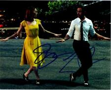 Emma Stone Ryan Gosling Signed 8x10 Photo Autographed with COA