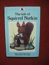 LADYBIRD - The Tale of Squirrel Nutkin by Beatrix Potter (Hardback, 1987)