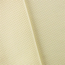 Chiffon Ivory Novelty Rib Home Decorating Fabric, Fabric By The Yard