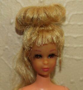 Vintage 1970s FRANCIE w/ GROWIN' PRETTY HAIR Nude Doll
