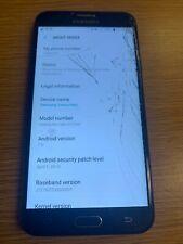 Samsung Galaxy Halo SM-J727AZ 32 GB Black CRICKET **READ**