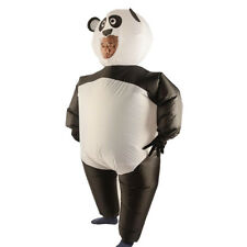 Inflatable Panda Costume Airblown Jumpsuit Halloween Cosplay Fancy Dress