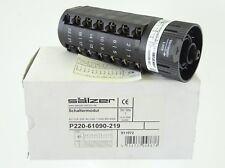 SÄLZER P220-61090-219 Schaltermodul Stufenschalter 4-Stf 3P 7,5kW 380-440V 20A