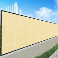 Privacy Fence Windscreen Screen Mesh HDPE Netting Fabric Outdoor 4ft/6ft Tarp