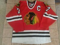 Chris Chelios Chicago Blackhawks Nike Authentic Vintage Jersey sz 52