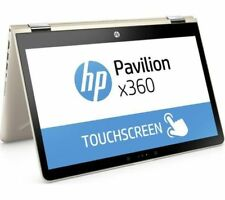 "HP Pavilion x360 Covertible 14-ba048sa 14"" Laptop-Gold, i3-7100u,4gb RAM, 128gb SSD"