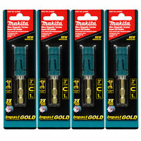 "Makita B-35097 Impact Gold 3"" Ultra-Magnetic Torsion Insert Bit Holder 4PK"