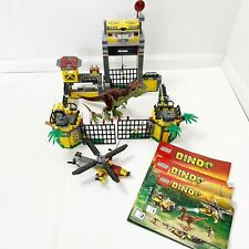 Lego Dinosaur series Dino Defense HQ 5887 Partial Complete T-rex Raptor Retired